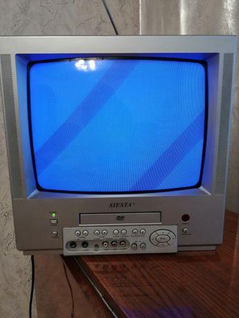 Продам телевизор видео двойку SIESTA