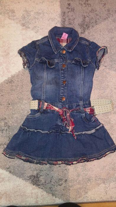 Sukienki dziewczęce jeans Olsztyn - image 1