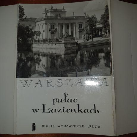 Warszawa  pałac w Łazienkach  1968.