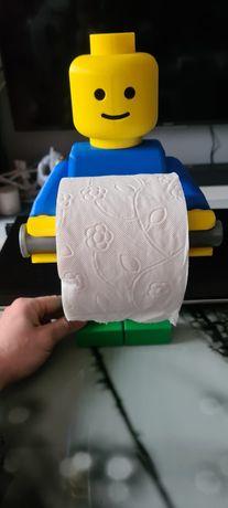 Uchwyt Lego na papier toaletowy
