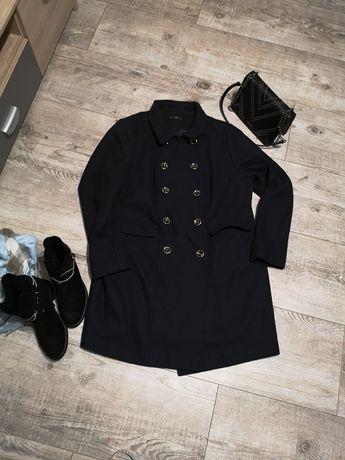 Płaszcz kurtka granatowa na jesień