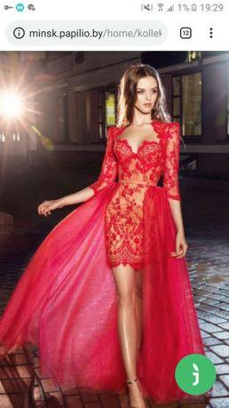 Вечернее платье 3 в 1 для выпускного