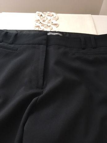 Spodnie eleganckie czarne xxxl