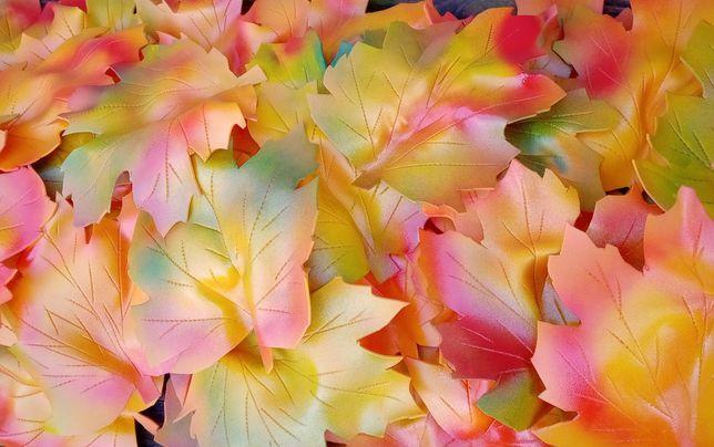 Листья ,гирлянда