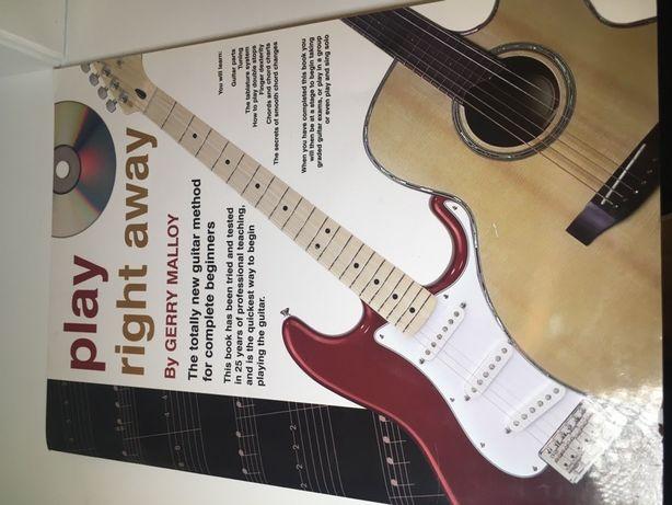 podręcznik dla gitarzystów,gitara elektryczba,play right away