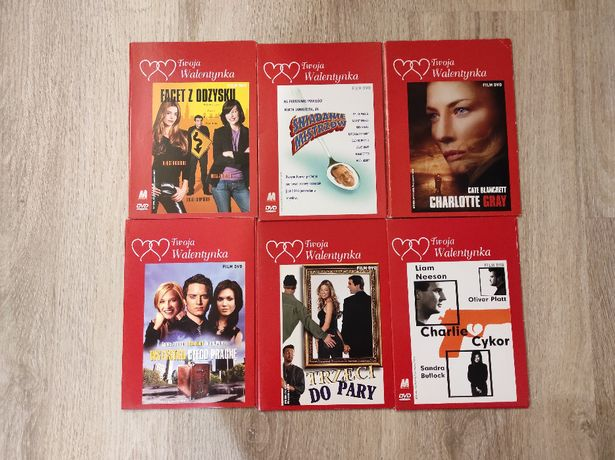 filmy na DVD - różne gatunki i tytuły - 24 pozycje