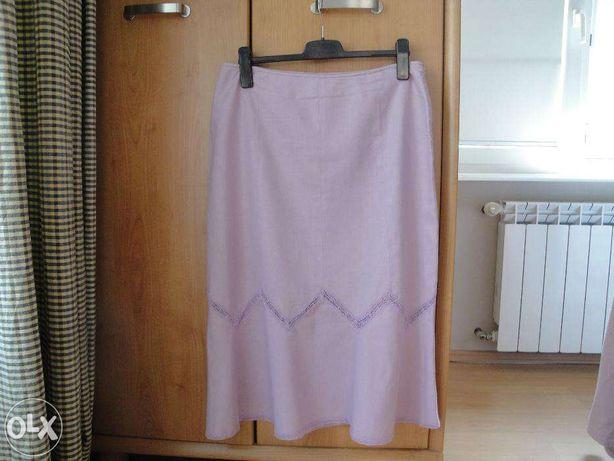 Spódnica KappAhl roz. 44 spódniczka roz. XXL - len