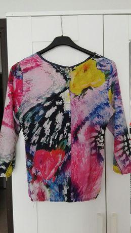 Bluzka koszula kolory wiosna 36 s lato zwiewna