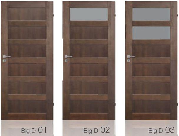 Drzwi wewnętrzne drewniane BIG D PROMOCJA MIESIĄCA - 100 zł