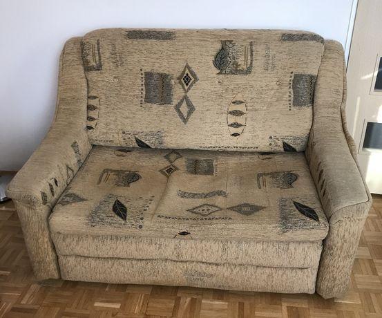 Sofa kanapa łóżko rozkładane rozsuwane z funkcją spania