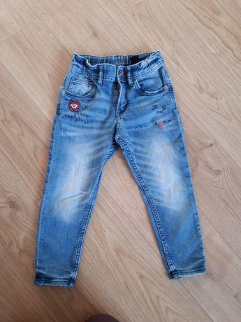 Spodnie 104 chłopcy