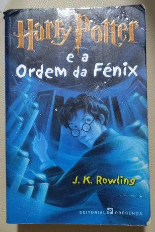 1 edição- Harry Potter e a Ordem da Fénix-J.K.Rowling