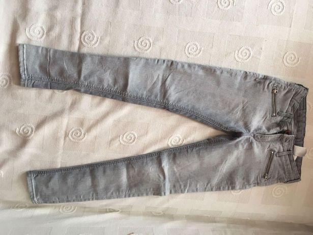 Jeansy H&M paczka ciuchów