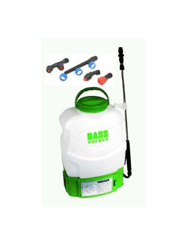 Akumulatorowy Elektryczny OPRYSKIWACZ plecakowy o pojemności 16L Bass