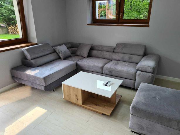 rogówka, sofa, narożnik, funkcja spania