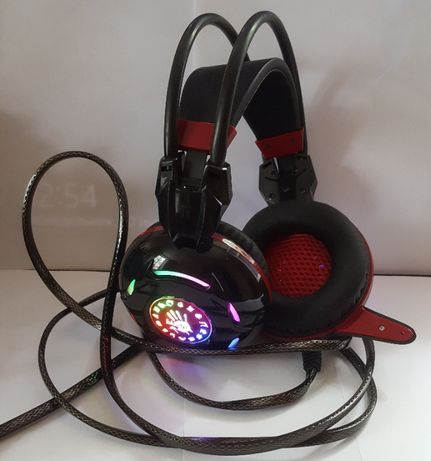 Наушники Bloody G300 Black/Red состояние новых!