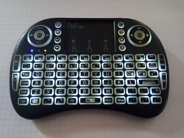 Rii i8s pilot klawiatura bluetooth BT Kodi Mi box tv konsola mysz