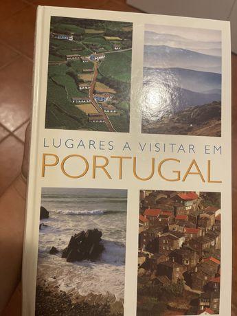 """Livro """"Lugares a visitar em Portugal"""""""
