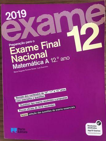 Livro Preparação para o Exame Final de Matemática A - 12º Ano