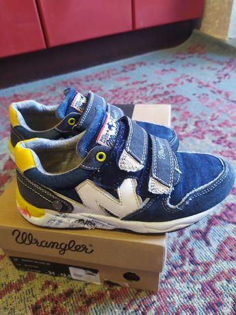 Кроссовки на липучках Wrangler. Обувь для мальчика. Кросівки, взуття.