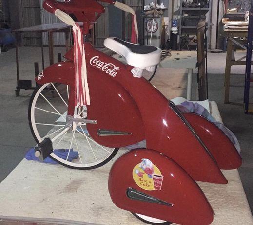 Bicicleta. Triciclo. Coca Cola. Raro!!