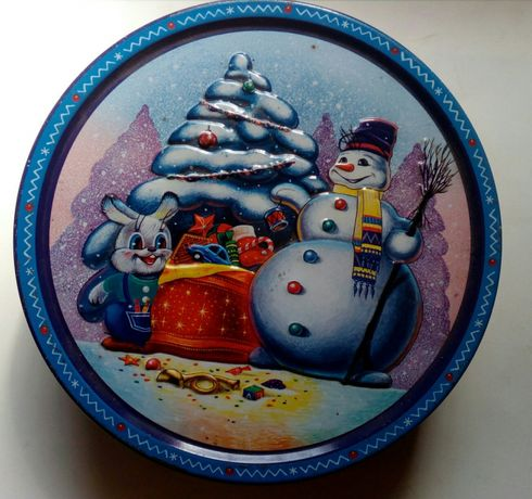 Bonita lata de Biscoitos