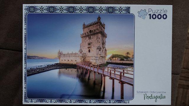 Puzzle 1000 - Lizbona