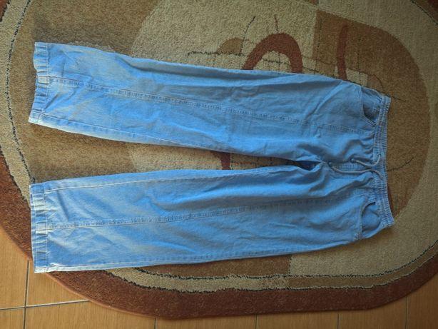 Spodnie jeans na gumce 44/46