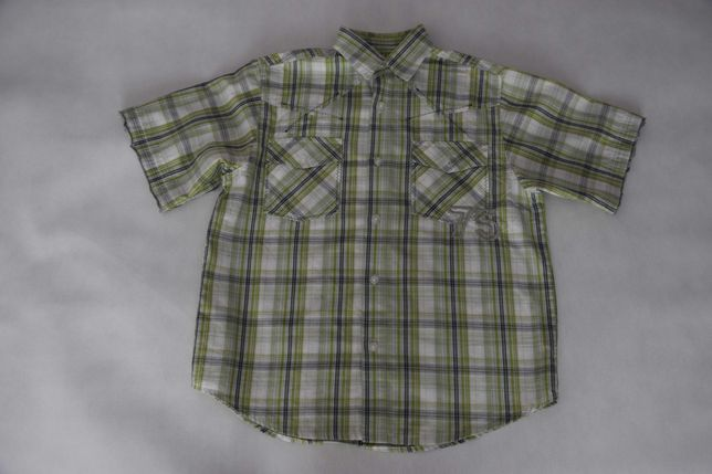 Paka ubrań dla chłopca - koszule z długim i krótkim rękawem od 146-152