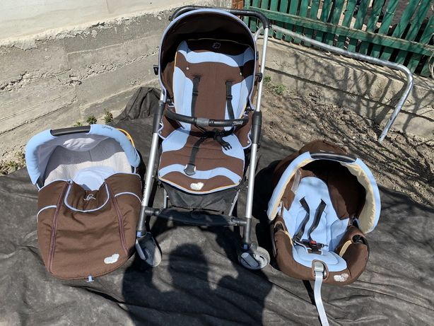 Детская универсальная коляска 3 в 1 Bebe Confort Streety