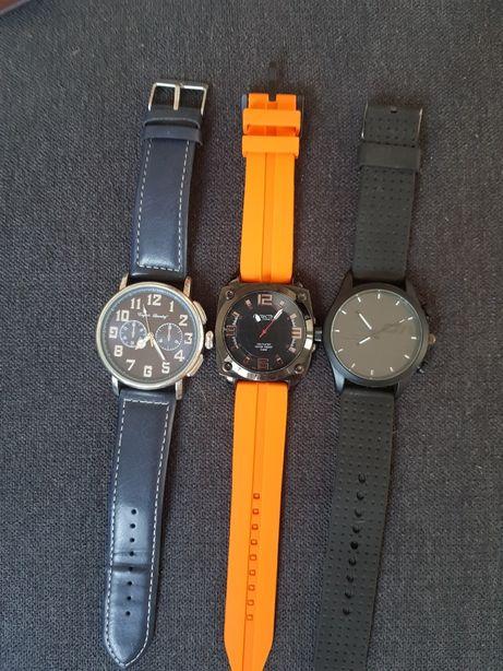 Męski zegarek.