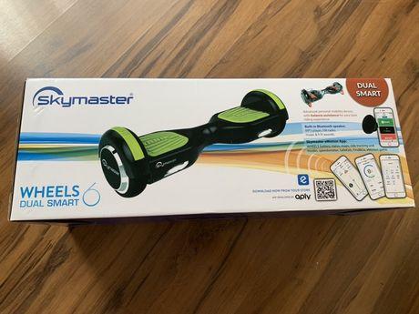Deskorolka elktryczna skymaster wheels dual smart