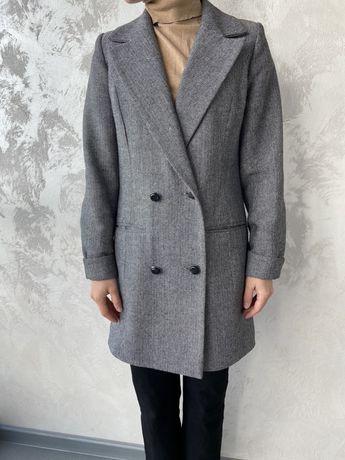 Пиджак-пальто шерстяной