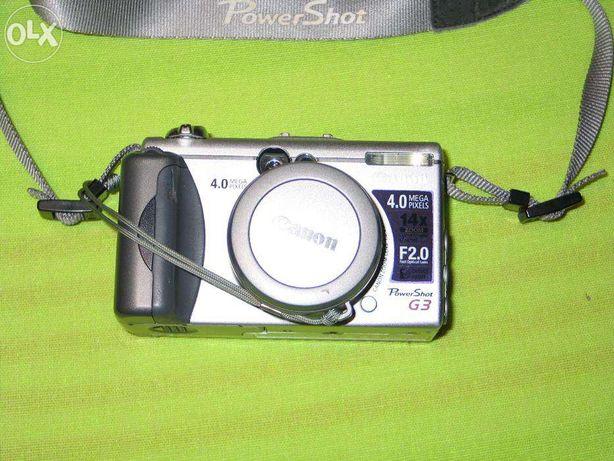 Maquina fotografica digital Canon G3 (com avaria para peças)