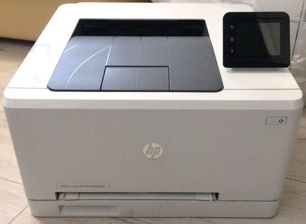 Цветной лазерный принтер HP Color  Laser Jet Pro M252dw