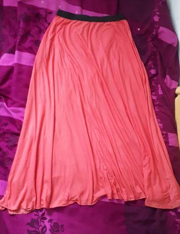 Różowa długa spódnica maxi Atmosphere M/L
