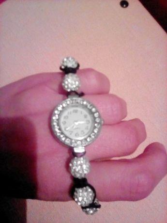 Часы наручные часики кристаллы Сваровски подарок