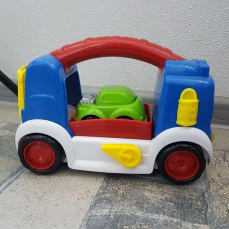 музыкальный автовоз Redbox набор из 2 машинок супер качество как новый