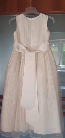 Sukienka tiulowa wizytowa rozm134-140