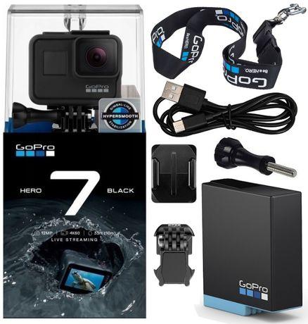 Kamera sportowa GoPro HERO 7 Black Go Pro HERO7 4K WiFi GPS