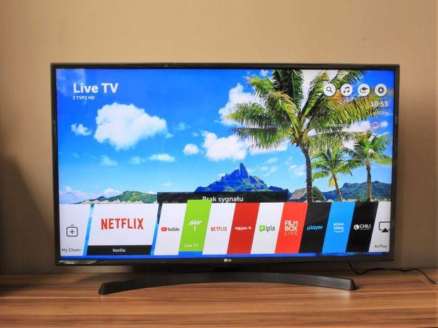 Telewizor UHD HDR Smart 43 cale LG / Netflix 4K / Bluetooth / 2018r