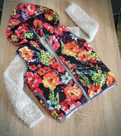 Жилетка+ свитер набор на девочку