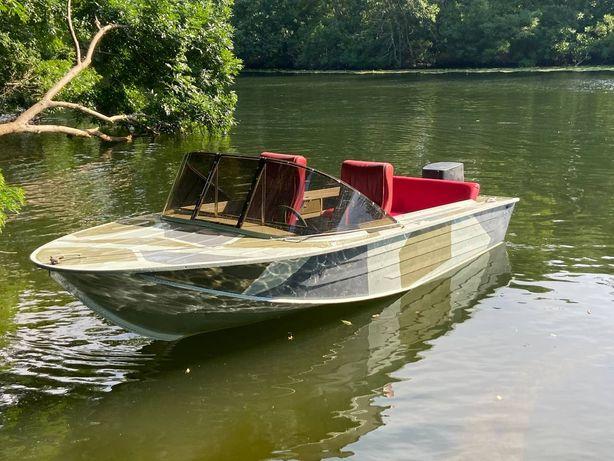 Лодка Южанка 2 Yamaha 55 и лафет