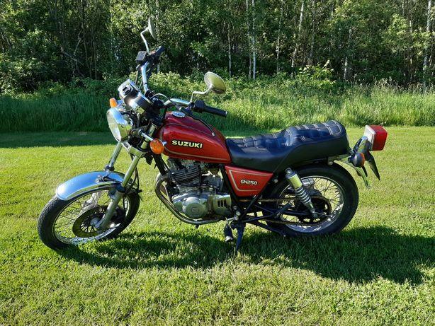 Suzuki GN 250 gotowy do sezonu