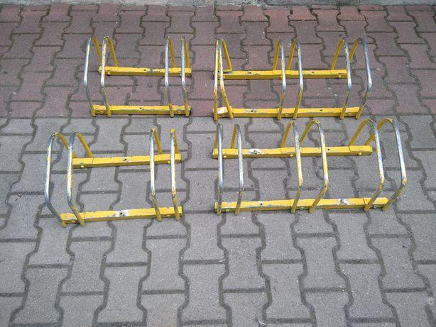 4 stojaki rowerowe