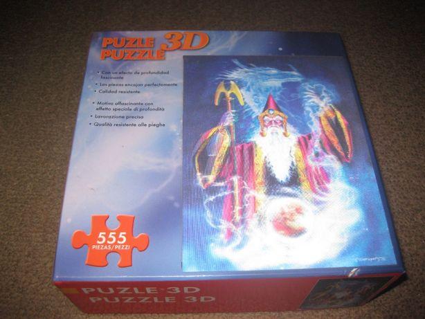 Puzzle 3D Holográfico/555 Peças!