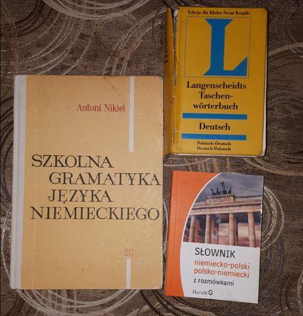 książki słownik język niemiecki