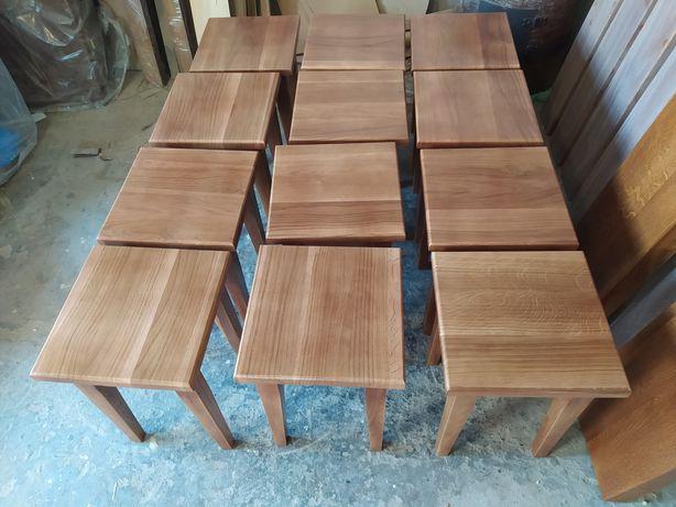 Табуретки, стіл, НОВІ ДУБ (Повністю дерев'яні)