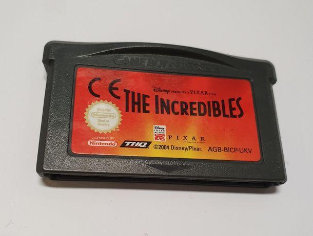 Gra Gameboy Advance i nie ma mocni / The incredibles