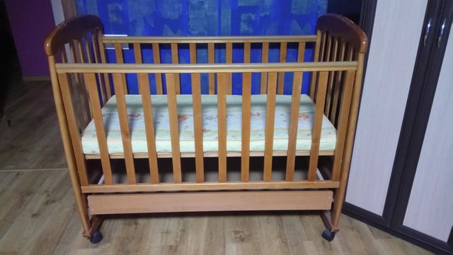 Кроватка детская (Верес Соня)+матрас